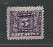 CANADA # J-4 Thin Paper Variety MNH POSTAGE DUE (6316)