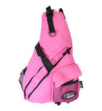 PINK Breast Cancer Awareness Messenger Sling Body Bag   Shoulder Pack Crossbody