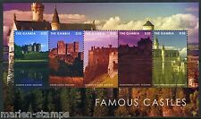 GAMBIA 2013 FAMOUS CASTLES OF THE WORLD SOUVENIR SHEET THE ALCAZAR SPAIN MINT NH