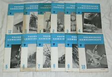 Technische Gemeinschaft 12 Zeitschriften (Komplet) 1957