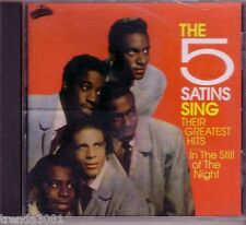 the 5 Satins Greatest Hits CD Classic 50s 60s Rock Anthology In the Still Night