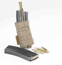 TAS - OPEN M4 MAGAZINE MOLLE POUCH, AIRSOFT, WEBBING