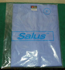 SALUS - NURSING SCRUBS TOP / SHIRT ONLY - SIZE S (LIGHT BLUE)