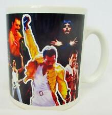 Freddie Mercury Mug Freddie Mercury Collage Tribute Porcelain Mug Hand Decorated