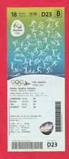 Ticket  Olympische Spiele RIO 2016 / Wasserball MONTENEGRO - KROATIEN 1/2 F. / B