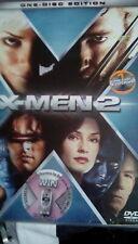 X-MEN 2-SINGLE DISC-DVD-BRAND NEW SEALED