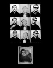 ANDY WARHOL Portrait SIGNED Art Print by GERARD MALANGA Photobooth