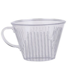 Plastic Transparent Coffee Filter Cup Cone Drip Dripper Cafe Maker Brewer Holder