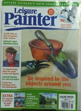 Leisure Painter UK Feb 2017 Be Inspired By Objects Around You FREE SHIPPING sb