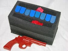 Precut open cell Foam Kit fits 50 cal caliber Ammo Can holds 2 Pistols +10 mags