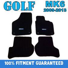 Custom Heavy Rubber or Carpet Car floor mats for Volkswagen Golf MK6 2009 - 2013