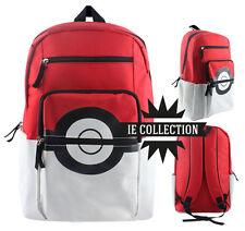 POKEMON MOCHILA POKé BOLA SCUOLA sac bolsa backpack ir pokeball cosplay ash