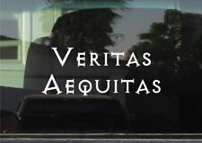 Boondock Saints Veritas Aequitas (Latin - Truth and Justice)Vinyl Decal/Sticker