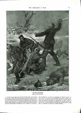 WWI Poilus Marne Officier Cuirassier Sabre Feldgrau Lucien Jonas B ILLUSTRATION