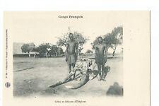 CONGO FRANCAIS , CRANE D ELEPHANT