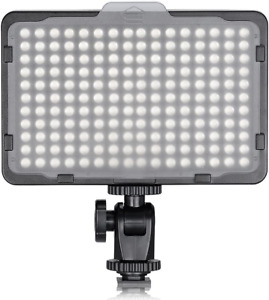 Neewer 176 LED 5600K Ultra Bright Dimmable on Camera Video Light with 1/4-inch