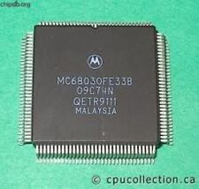 MOT MC68030FE33B QFP ENHANCED 32-BIT MICROPROCESSOR