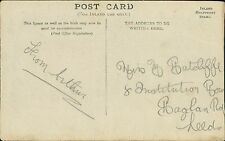 Arthur William Prill -  Mary Ratcliffe,  8 Institution Row, Leeds. RJ.849