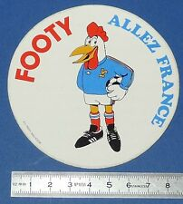 FOOTBALL STICKER COUPE MONDE ARGENTINA 78 MASCOTTE FOOTY ALLEZ FRANCE 1978