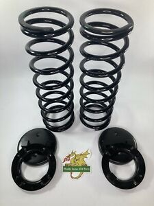Bearmach Land Rover Defender 110 130 HD Helper Springs and plates Kit RRC3266