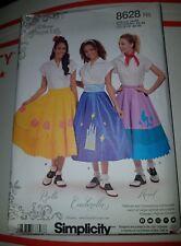 Simplicity Patterns Disney Princess Skirts Size - 14-22 [New] 8628 R5