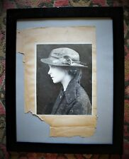 """Early 20th c. Signed  Photograph of Lillian Gish (""""A Timely Interception""""-1913)"""