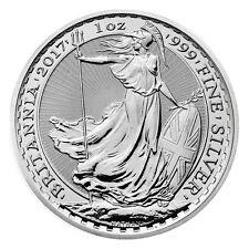 2017 Great Britain 2 Pound 1 Troy oz. .999 Silver Britannia SKU43886