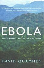 QUAMMEN,DAVID-EBOLA  BOOK NEW