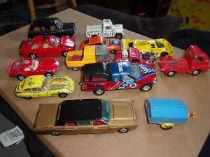 job lot of 13 corgi cars