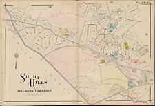 1881 E ROBINSON SHORT HILLS MILLBURN TOWNSHIP ESSEX COUNTY NEW JERSEY, ATLAS MAP