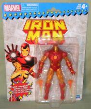 "CLASSIC IRON MAN Marvel Legends Retro Vintage Series 6"" Action Figure 2017"