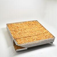 Pro BBQ Cold Smoke Generator Steel Grill Wood Chips Smoker Box Grill Tool R