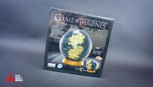 4D Game of Thrones Westeros and Essos Globe Puzzle 240 PCS