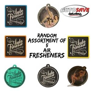 Auto Finesse 5 Assorted Air Fresheners