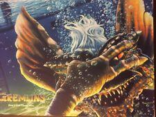 Gremlins Mike Saputo 24x18 Mondo silkscreen movie poster /275
