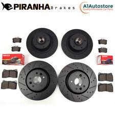 RENAULT MEGANE COUPE RS 250 265 275 TROPHY FRONT REAR COATED BRAKE DISCS PADS