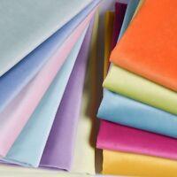 Solid Pleuche Velvet Fabric Brushed Cloth Curtain Sofa DIY Material Soft Costume