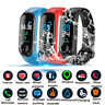 Blood Pressure Heart Rate Monitor Bracelet Smart Watch Wristband For iOS Android