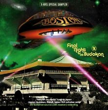 BOSTON FINAL NIGHT AT BUDOKAN 2CD XAVEL SS 003 ROCK & ROLL BAND THE LAUNCH
