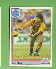 1992 RUGBY LEAGUE CARD #168 BEN ELIAS, BALMAIN TIGERS