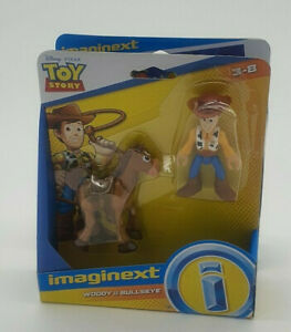 Toy Story  Woody and Bullseye & Buzz Light Year and Jessie Toy Bundle