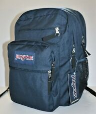 New JanSport Big Student Backpack Book-Bag Rucksack School Hiking Blue