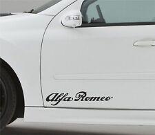 2x Tür Aufkleber Passt Alfa Romeo Car Sticker Decal Seitenaufkleber UT7