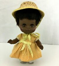 1971 Vintage Horsman African American Doll Sleepy Eyes Rooted Hair