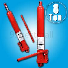 UK 8 Ton Hydraulic Jack Long Ram Manual Arm Replacement Engine Lift Hoist Cherry