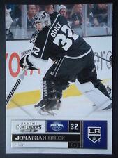 NHL 45 Jonathan Quick Los Angeles Kings Panini Contenders 2011/12