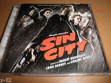 SIN CITY 1 soundtrack CD Robert Rodriguez John Debney Graeme Revell SCORE ost