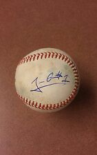 Jeison Guzman Signed autographed baseball on used minor league ball. See pics