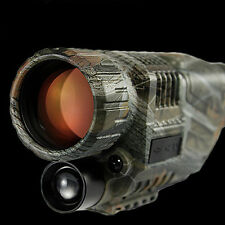 Visione notturna a infrarossi Scuro IR Binocoli Binocolo telescopi Adattatore 1000 mA 8 GB