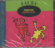 Salsa Frankie Ruiz Puerto Rico Soy Tuyo CD NEU Tu Me Vuelves Loco Me Faltas
